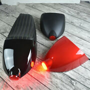 Universal Motorcycle Cafe Racer Refit Seat With Cover Shell And Rear Tail Light