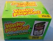 2006 Topps Wacky Packages - Ans4 - Hobby - Factory Sealed Box Plus Album - 24 Ct