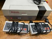 Nintendo Nes System Console Accessories Included And New 72 Pin Connector