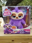 Pets Alive Fifi The Dancing/flossing Sloth Robotic Toy Battery-powered New 2020