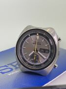 Seiko Speedtimer Ref 6139-7020 Flying Saucer Chronograph Watch 1970and039s.