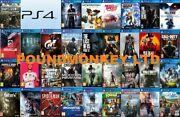 New Ps4 Games Playstation 4 Buy One Or Bundle Up Super Fast Delivery