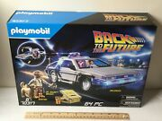 New Playmobil 70317 Back To The Future Delorean Marty Mcfly Dr Emmett Brown