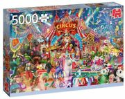 New Jumbo Jigsaw Puzzle 5000 Pieces Premium Collection A Night At The Circus
