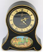 Reuge Arnex Time Co. Swiss Made Automation Musical 8 Days 15 Jewels Alarm Clock