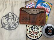 Phish X Money Mitts Wallet Baseball Christmas Gift Sold Out Not Pollock Welker