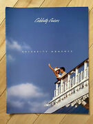 """Celebrity Cruises """"celebrity Moments"""" Cruise Ship Brochure Lots Of Large Pics"""