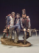 Three French Companions Painted Toy Figure Miniature Pre-sale | Art