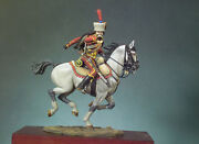 French Army Trumpeter Of The Hussar Painted Toy Figure Miniature Pre-sale   Art