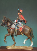 French Army Hussar Of 4th Regiment Painted Toy Figure Miniature Pre-sale   Art