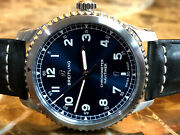 Breitling Navitimer 8 Automatic 41mm Blue Dial A17314101c1x2 Box Papers Card