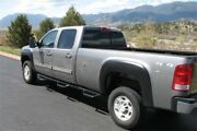 N-fab Nerf Step For 07-10 Chevy-gmc 2500/3500 Crew Cab 8ft Bed - Gloss Black - B