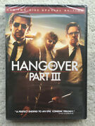 The Hangover Part 3 Dvd 2013 2-disc Set Special Edition New And Sealed.