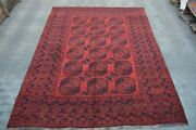 8and0396 X 11 Feet Woolen Area Room Rug Tribal Antique Flat Weave Area Tradit B2144