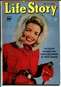 Life Story 10 1950 - Fawcett -vg+ - Comic Book
