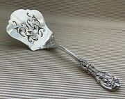Reed And Barton Francis I Solid Waffle Server Pierced Sterling Silver No Mono