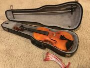 Merson Concert Deluxe 4/4 Ww2 Era 1945 Made In Occupied Germany With Case Bow