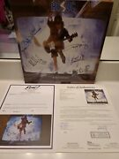 Autographed Acdc Album/blow Up Your Video...by All 5..full Jsa Letter