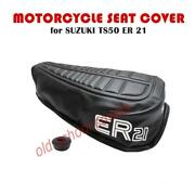 Motorcycle Seat Cover Suzuki Ts50 Er 21 Model And Strap Ts 50 Ts50er21