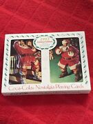 """Vintage 1993 Coca-cola Nostalgia Playing Cards Set-""""limited Edition""""-new"""