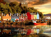 Tobermory Scotland Special Edition Limited Art Print By Sarah Jane Holt