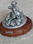A Child's Memory Collection By Wt Wilson -- 4 Discontinued Pewter Figurines