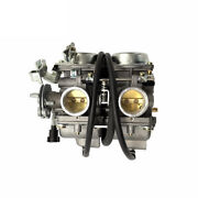 Twin Carburettor For Ajs Dd250e Regal Raptor Cb250 Air Cooled Motorcycle Parts