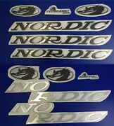 Nordic Boats Emblem 22set + 33set + Free Fast Delivery Dhl Express - Stickers