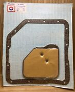 Gm Th350 Th250 Lockup Transmission Oil Filter And Pan Gasket Service Kit 1974-up