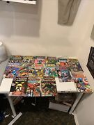 Lot Of 17 Vintage Comics Captain America 140 In The Grip Of The Gargoyle