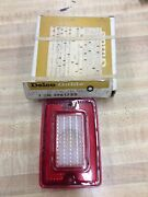 1969 Chevy Station Wagon Delco Guide Tail Light Lens Nos Sr22