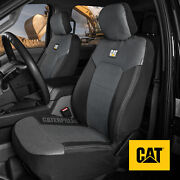 Cat Mesh Flex Car Seat Covers For Front Seats - Black And Gray Truck Seat Covers
