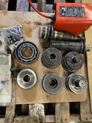 Gruvlock-k 1007 Victaulic-c Roll Groover And Hydraulic Pump W/ Pressure Gauge