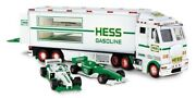 2003 Hess Toy Truck And Racecars In Original Box Vintege From Case
