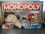 Monopoly For Sore Losers It Pays To Loose By Hasbro