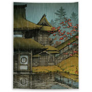 Landscape Sky Mountain Sea Tapestry Art Wall Poster Hanging Sofa Table Cover