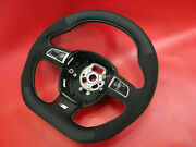 Audi Custom Made Flat Bottom Steering Wheel Paddle Shifters A3 S3 A4 S4 Rs4 A5