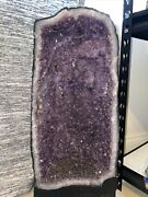Amethyst Cathedral Geode Tall