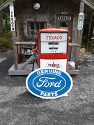 Xtra Large Classic Vintage Style 37 Inch Ford Parts Sign
