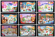 Lego Advent Calendars Lego City And Friends Complete Sets