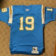 Lance Alworth Signed Throwback Jersey Chargers Inscribed Hof 78 Bambi 19