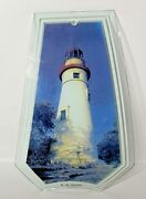 Ok Lighting Replacement Glass Panel For Touch Lamp Marblehead Lighthouse