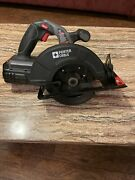 Porter Cable Pc186cs 18v Cordless 6-1/2 Circular Saw With Battery Works