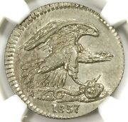 🦅🐍🇺🇸🥰❤️🔥ngc Ms65 1837 Feuchtwanger One Cent Ht-268