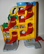 Fisher-price Little People Wheelies Stand 'n Play Rampway 2ft Tall, +11 Cars