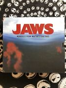 Jaws-memories From Marthaand039s Vineyard Deluxe Book W/piece Of Orca Limited To 1000