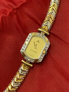 Jaeger Lecoultre 18k Gold Ladies Watch Not Working