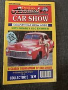 1989 Annual Car Show Magazine Antique Cars Classic Ford Chevy Dodge Olds Buick