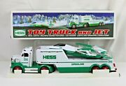 Hess 2000 Battery Operated Toy Truck And Jet In Original Box