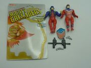 Vintage Remco Mighty Crusaders The Shield/the Comet Cardback/accessories Rare